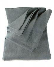 """SE BI64847GR Warm 4lb. Blanket (64"""" x 84"""") with 80 Wool, Grey"""