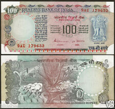 G-42 ★★ 100 Rupees S.Venkitaramanan 'A' Inset ~ Blue,Pink ~ UNC ★★ bb85