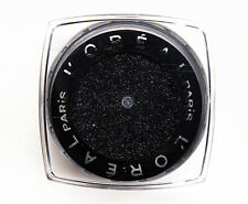 L'oreal Infallible Eternal Black Eyeshadow Iridescent Finish Glitter Shimmer New
