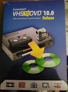 HONESTECH VHS TO DVD VERSION 10 DELUXE VIDEO CONVERTER