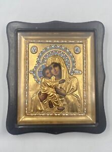 New Icon Mother of God Lithography 26x30cm