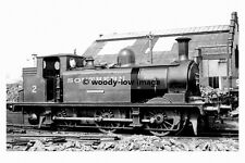 pt7014 - Isle of Wight Railway - Steam Train Yarmouth at Newport  photograph 6x4