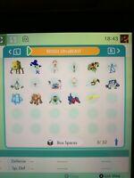 All x11 Ultra Beast All x6 Ultra Shiny Regies Pokemon Sword ShieldCrown Tundra