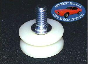 GM Side Door Rear Quarter Plastic Window Glass Regulator Arm Roller Wheel 1pc F