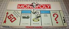 Vintage Monopoly Property Trading Game By Parker Brothers Board