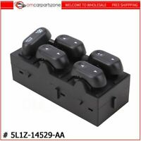 Power Window Master Control Switch For Ford F150 Front Driver Side 5L1Z14529AA
