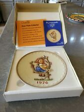 M.J. Hummel Annual Plate 1976 In Bas Relief With original box Fd491