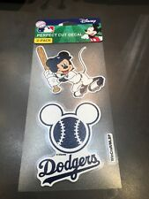 b3496b26841 LOS ANGELES DODGERS MICKEY MOUSE 2 PIECE PERFECT CUT DECAL SHEET 4