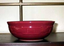 New ListingLongaberger Pottery Cereal Bowl 26 Oz. - One Single - Paprika Red - Usa