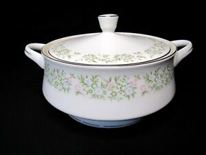 Vintage Taihei Sterling Fine China Japan Springtime Covered Vegetable Bowl w/Lid