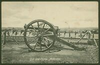 Gun and Camp, Aldershot - Vintage Valentine's Postcard