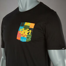 Nike sz XL Men's BHM Pocket T Shirt Tee NEW $40 810713 010 Black / Multi