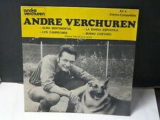 ANDRE VERCHUREN Alma sentimental AV4 PROMO INTERDIT VENTE ( Musette accordeon )