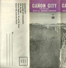 Vintage Brochure for Canon City Colorado Royal Gorge