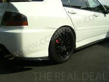 MITSUBISHI EVO 9 BODY KIT REAR SPATS & SIDE SKIRT EXTENSIONS BIRMINGHAM