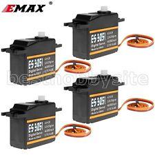 4x EMAX ES3051 Standard Size 43g Digital Servo 3.2KG 0.17sec trex RC 450 heli