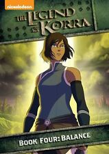 Legend Of Korra: Book Four: Balance (2015, DVD NIEUW)2 DISC SET