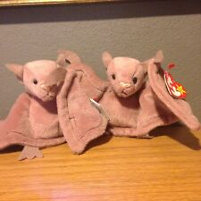 Must Sell !!!! 2-1996 Ty Beanie Babies Batty