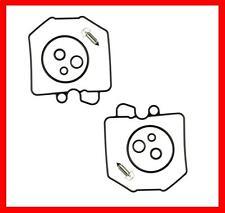 KR Vergaser Reparatur Satz Dichtsatz CAB-H1 x2 HONDA CB 400 N Euro 78-81