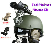 FAST Helmet MOUNT KIT Airsoft Tactical Army Protection Helmet Accessories Gear