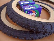 16x2.125 COMP III 3 BLACK GUMWALL Kids Bicycle Tires & Tubes Fits 1.75 1.95 BMX
