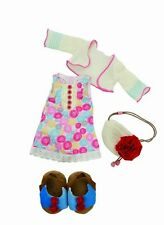 NEW Manhattan Toy Lilydoll Dressing Up Party Outfit for Doll Dress Shoes & Bag
