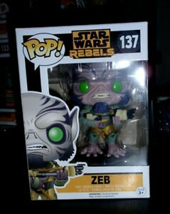 Funko Pop Star Wars rebels ZEB # 137