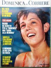 La Domenica del Corriere 11 Luglio 1972 Calligaris Boccardo Chinaglia Spia Morte