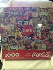 Coca Cola Puzzle Always Factory Sealed Springbok 2000 Pieces Coke TOUJOURS 1998