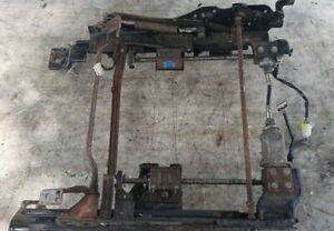 94-96 Infiniti Q45 Driver Left Front Seat Track Electric Power Mount w Defect