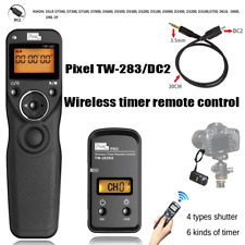 PIXEL TW-283 DC2 LCD Wireless Timer Remote Control Shutter Release For Nikon DF