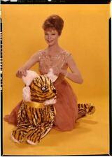 Anne Helm Vivid Couleur Glamour Pose En Exotique Robe Original 5x7 Transparence