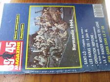$$f Revue Heimdal 39/45 Magazine N°40 Normandie 1944  Saint-Lo  Jean Gabin 2e DB