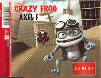 CRAZY FROG Axel F CD Single