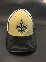 Who dat?  Retro New Orleans Saints Reebok Sideline Hat.  OSFA Flex