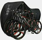 NEW Aiskaer Bicycle Cover with Lock Hole Reflective Safety Loops 3 bike