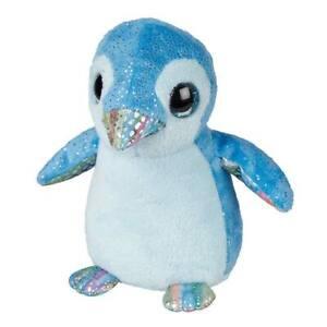 Penguin Soft Toy Ravensden 18cm Blue