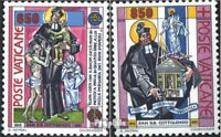 Vatican 1058-1059 (complete issue) used 1992 G.B. Cottolengo