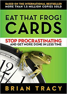 Eat That Frog! The Cards, Excellent, Brian Tracy Book