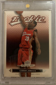 2003-04 LEBRON JAMES UPPER DECK MVP ROOKIE #201 CLEVELAND CAVALIERS LAKERS RC