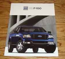 Original 2005 Ford F-150 Truck Sales Brochure 05 XL STX XLT FX4 Lariat
