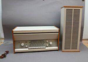 BRAUN ATELIER 1-81 Stereoanlage DESIGN Dieter Rams SCHNEEWITTCHENSARG + Box