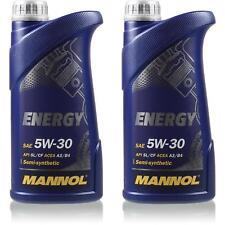 2l original MANNOL energía 5w-30 API sl aceite aceite del motor mn7511-1
