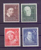 Bund 1951 - MiNr. 143/146 postfrisch** geprüft Top-Qual. - Michel 140,00 € (923)