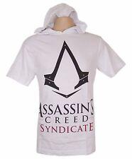 Assassins Creed Original Hoodie Short Sleeve T-Shirt White