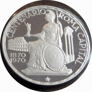 elf Equatorial Guinea 150 Pesetas 1970 Silver Proof Rome
