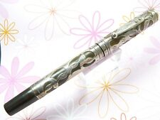 WATERMAN 412 PSF STERLING SILVER  OVERLAY  FOUNTAIN PEN