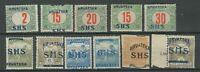 SHS - Kroatien 1918/19 ☀ Lot mit Fehlern ☀ Ungebraucht mit Falz