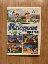Nintendo Wii Racquet Sports Games