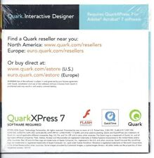Quark Interactive Designer MAC / PC CD (Sealed, Evaluation version)